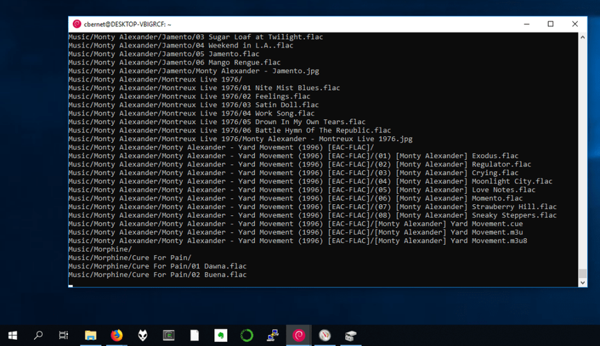 rsync on windows with WSL