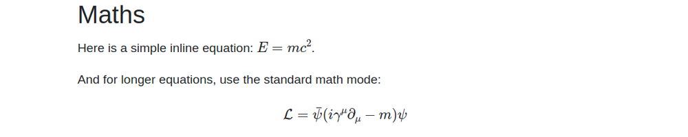 mathjax equation