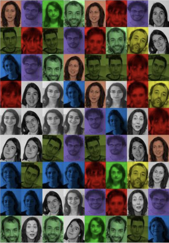 Rodriguez and Laio face clustering